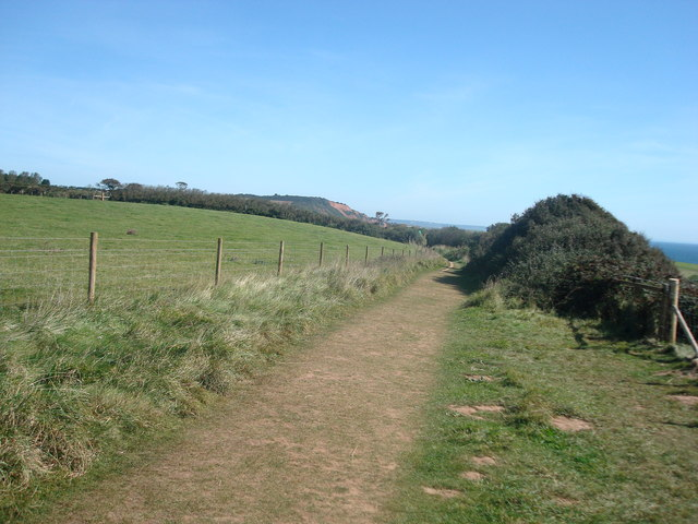 Coast Path, High Land of Orcombe, Exmouth
