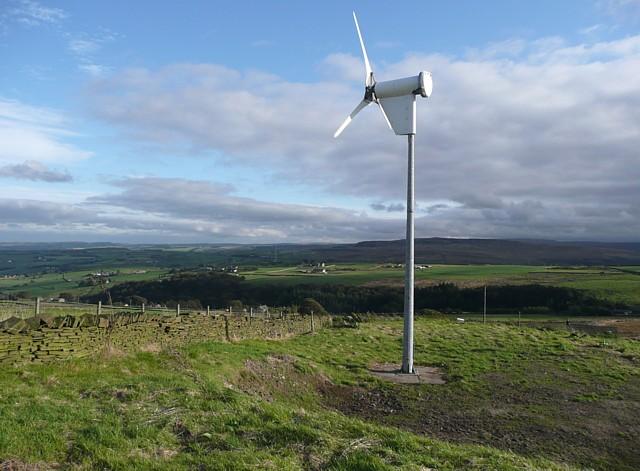 Wind Turbine, Slaithwaite