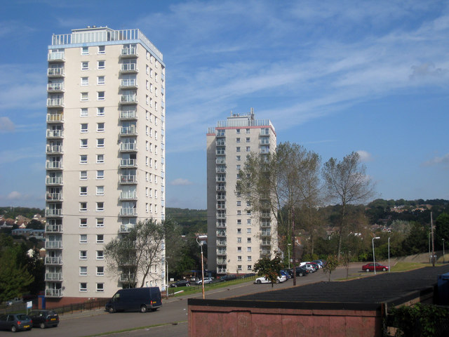 Tower Blocks at Hollington