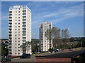 TQ7911 : Tower Blocks at Hollington by Oast House Archive