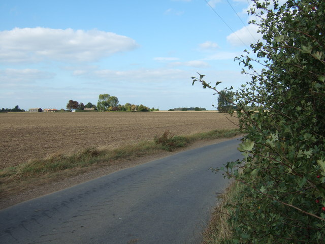 Fields on a bend, Terrington Marsh