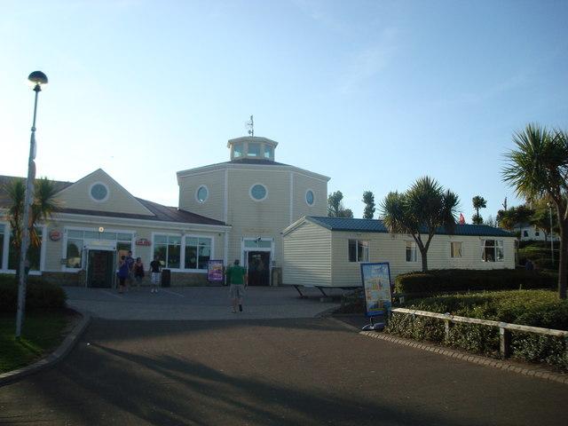 Main Complex, Devon Cliffs Holiday Park