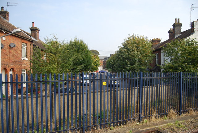 Nelson Rd from the railway station