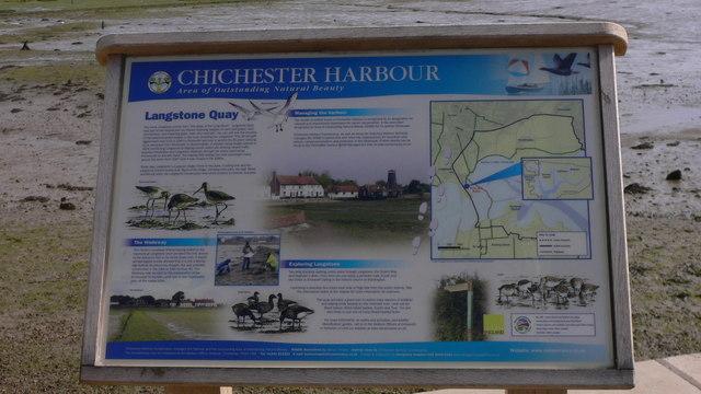 Harbour noticeboard