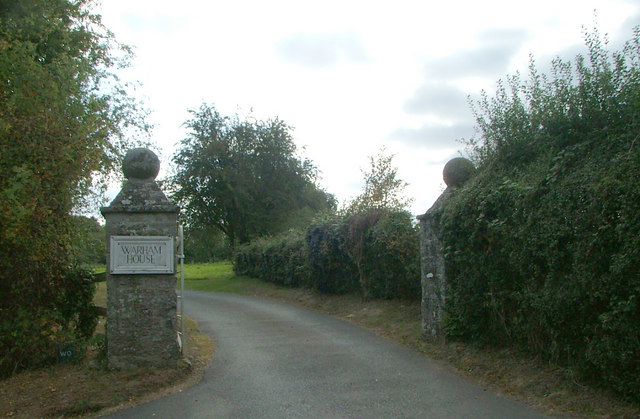 Entrance to Warham house