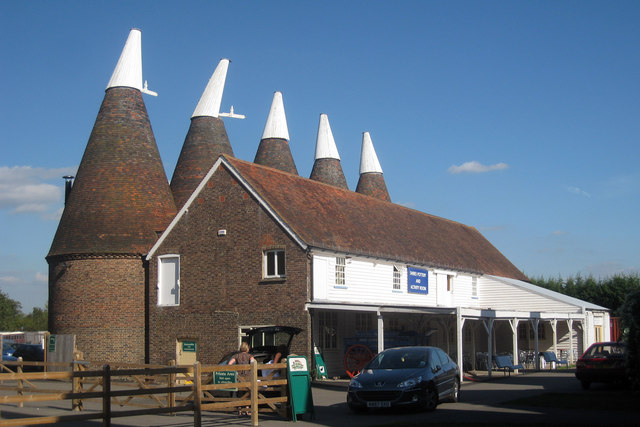 Bell 2 Oast House, Beltring Hop Farm, Beltring, Kent