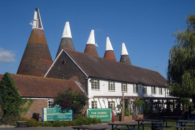 Bell 1 Oast House, Beltring Hop Farm, Beltring, Kent
