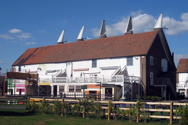 Bell 3 Oast House, Beltring Hop Farm, Beltring, Kent
