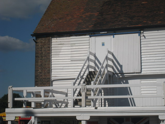Stair detail on Bell 4 Oast House