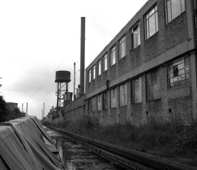 Canalside industry near Ulverley Green