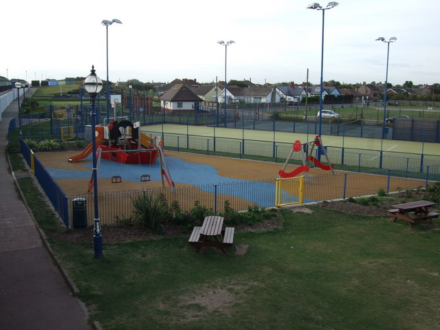 Children's playground Sutton on Sea