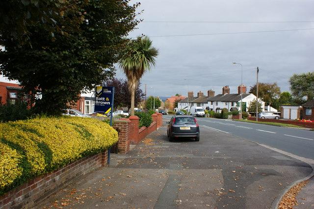Pemberton Road at Winstanley