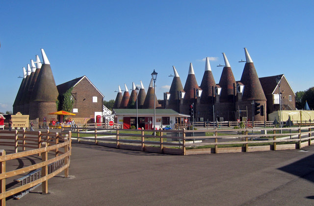 Oast Houses at The Hop Farm, Beltring, Kent