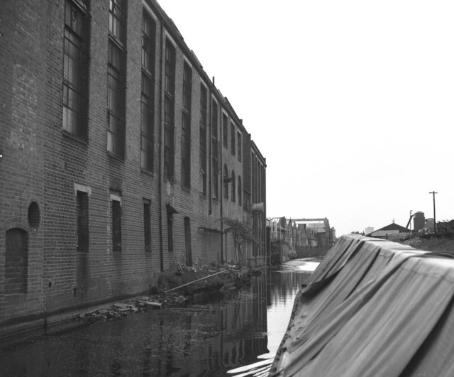 Canalside industry at tyseley