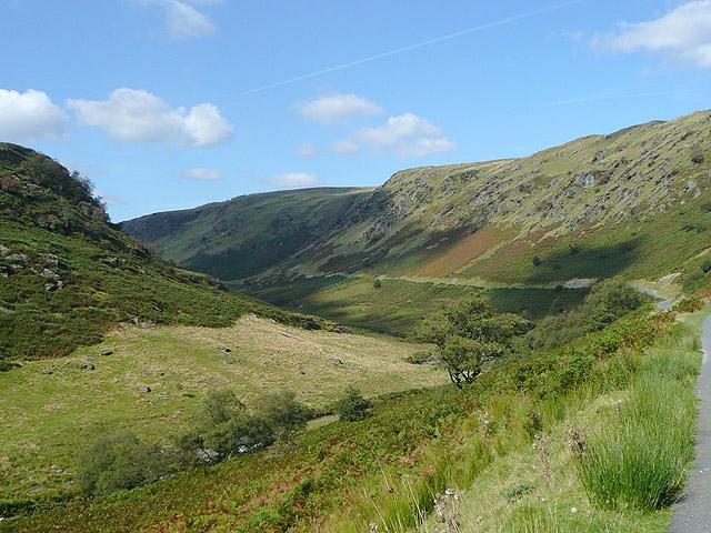 Cwm Irfon north-west of Abergwesyn
