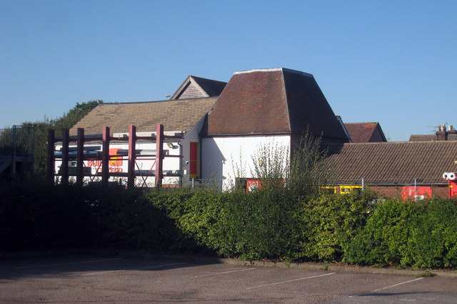Oast House at Build Center, Station Road, Paddock Wood, Kent