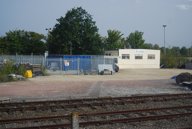 Buildings by the railway, Paddock Wood