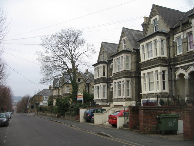 View along Priory Avenue