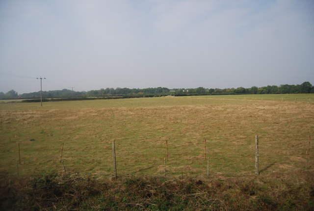 Field west of the railway line, Yalding