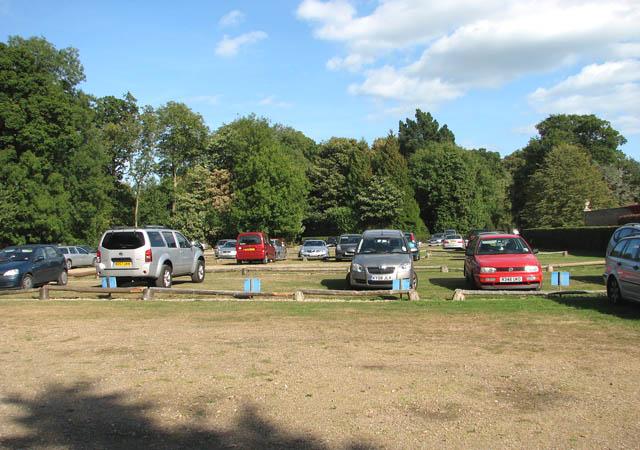 Somerleyton Hall car park