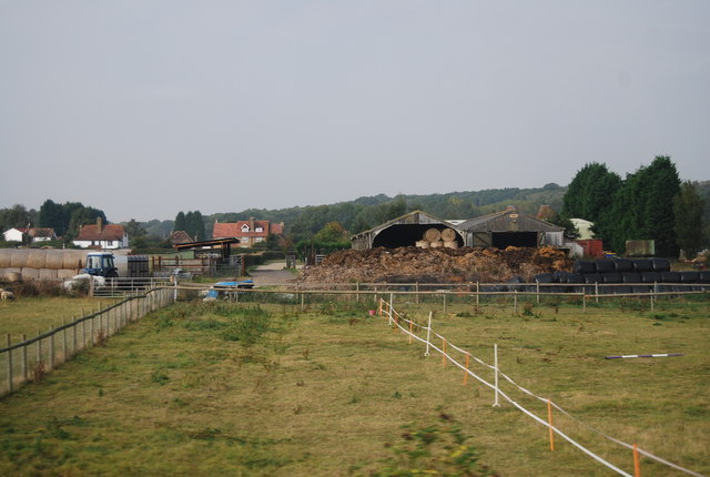 Barns, Green Farm, Nettlestead Green