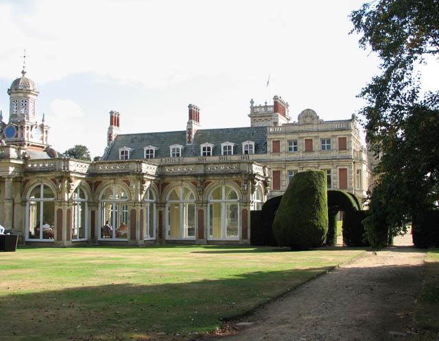 Somerleyton Hall - the orangery