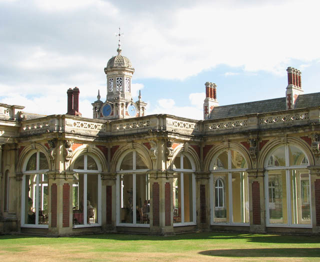 Somerleyton Hall - orangery and bell tower
