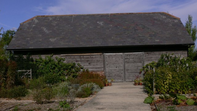 Large barn by Northney Road