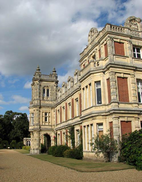 Somerleyton Hall - west elevation