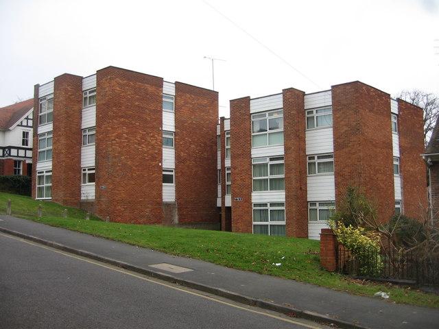 Square blocks of flats