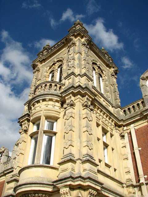 Somerleyton Hall - the west porch