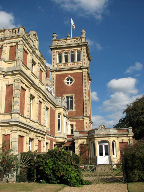 Somerleyton Hall - the tower