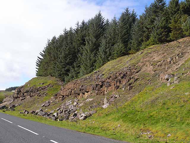 Rocky outcrops near Killhope Lead Mining Museum
