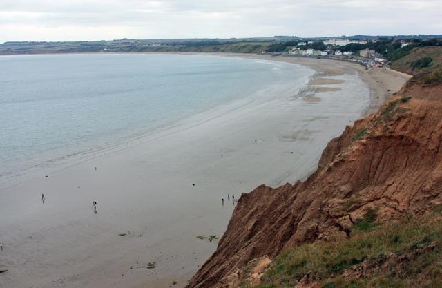 Cliffs above Filey Beach