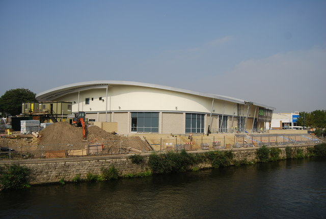 Building the new Asda Superstore, Maidstone