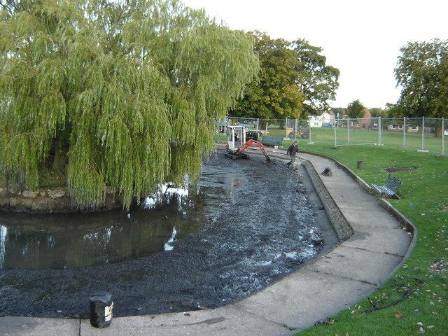 Pond  on  the  village  green