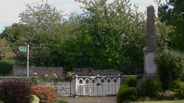 Church gates at North Hayling