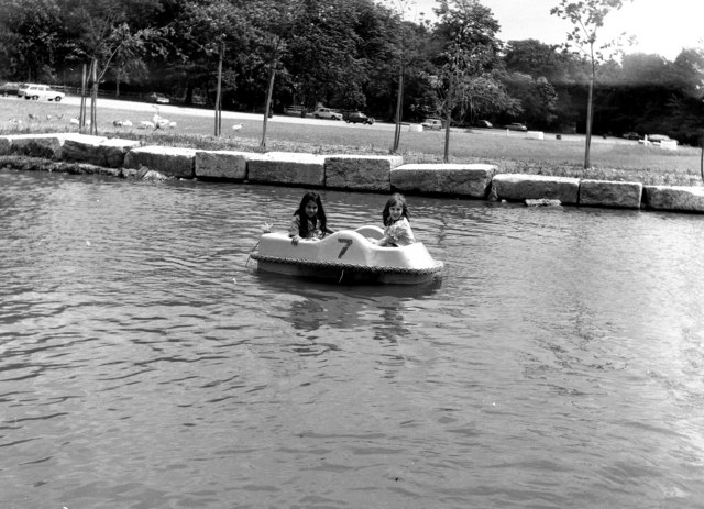 Children's paddle boat, Virginia Water