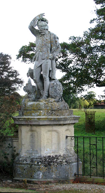 Somerleyton Hall - sculpture by John Thomas