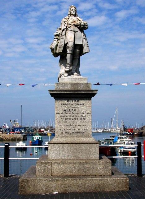 William, Prince of Orange at Brixham