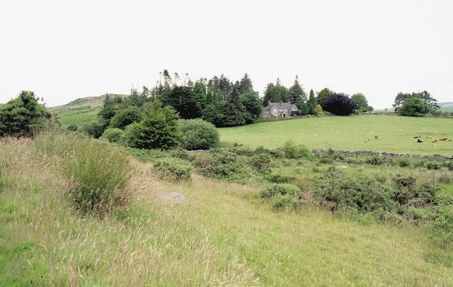 Moorland near Hartyland