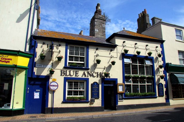 The Blue Anchor in Fore Street
