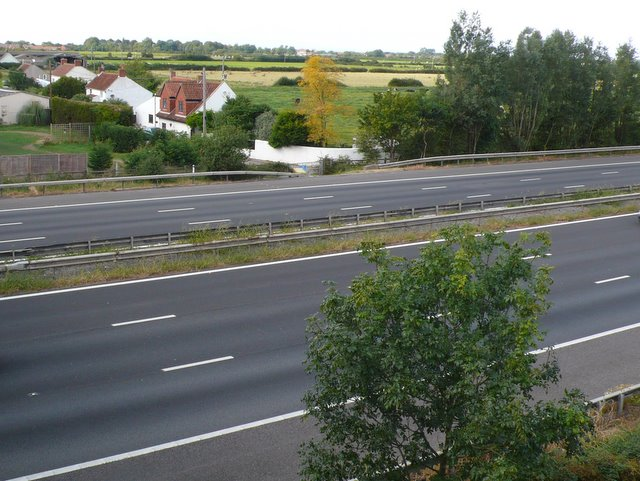M5 Motorway at Huntspill