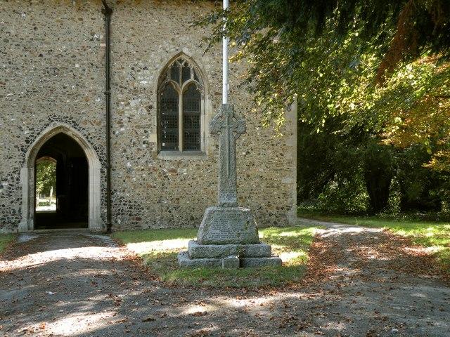 The War Memorial at Good Easter