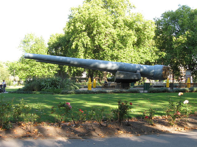 Gun Barrels at the Imperial War Museum
