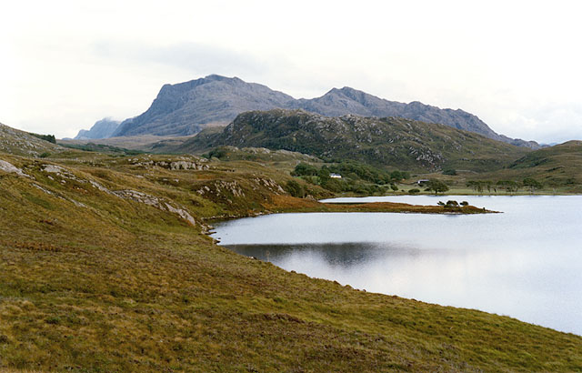 The northern side of Loch Kernsary
