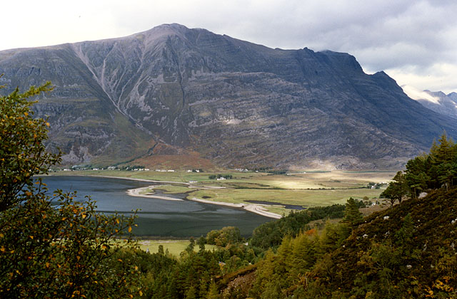 View towards Liathach