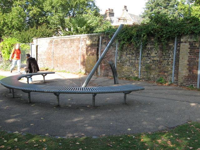 Sundial at Lambeth