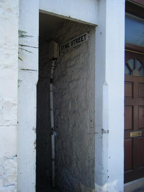 Syme Street, Moffat.