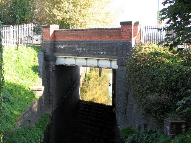 River Leen at Bobbers Mill Bridge